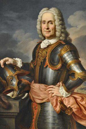 Domenico Duprà, Ritratto del principe Augusto Chigi della Rovere. Ariccia, Palazzo Chigi, inv. 466
