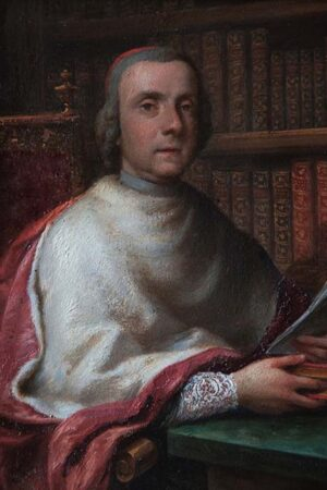 Davide Loreti, Ritratto del cardinale Flavio II Chigi. Ariccia, Palazzo Chigi, inv. 257