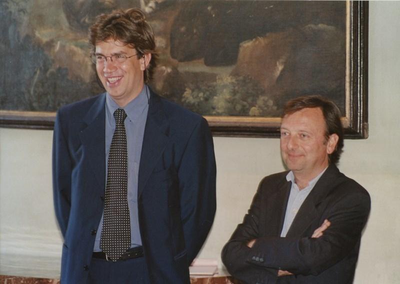 Maurizio Antonini, F.Petrucci, apertura Campus Auburn University, Decreto Ministero Pubblica Istruzione, Campus Palazzo Chigi (2005)