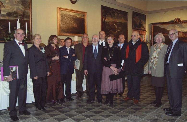 Studiosi e collezionisti, inaug. mostra Mola e il suo tempo, 21.1.2005