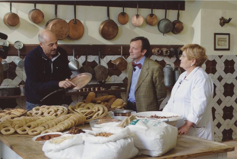 Paolo Brosio e F.Petrucci, Linea Verde, 4.11.2005