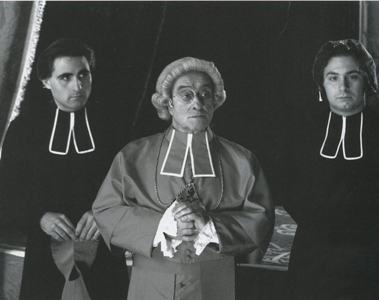 Lucio Danna, riprese della fiction televisiva Artemisia Sanchez, 3-29 gennaio 2007
