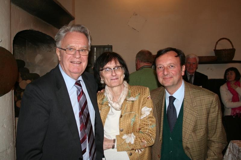 Erich Schleier, Mary Newcome Schleier e F.Petrucci, 11.4.2009