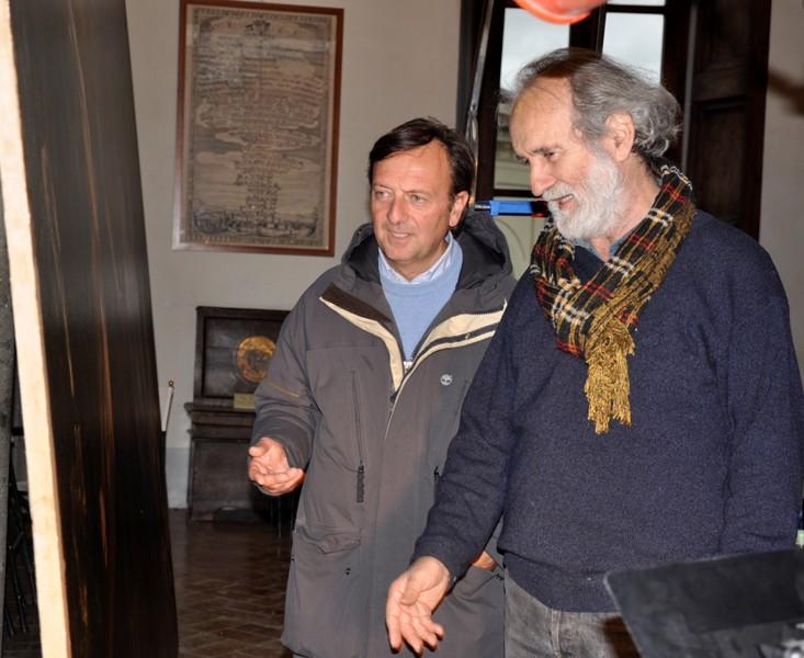 F.Petrucci, Livio Jacuitti, restauro Beato Giovanni Chigi, 6.11.2009