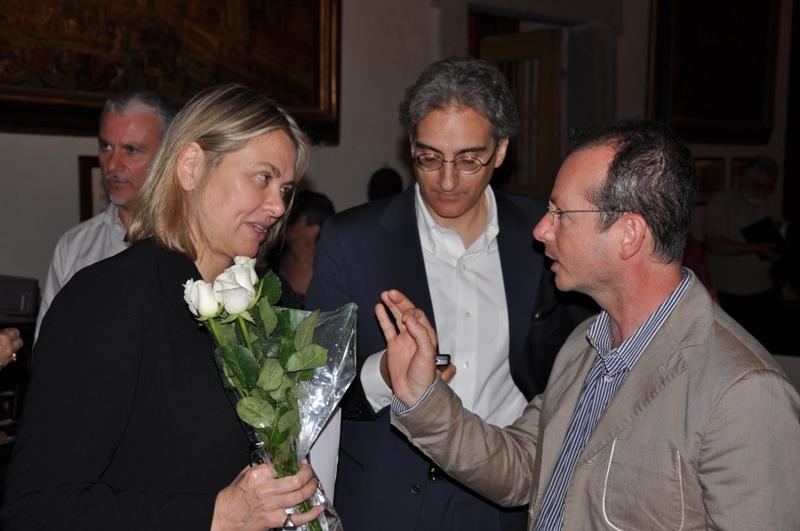 Karin Wolfe, Tommaso Manfredi e Andrea Donati, 12.6.2010