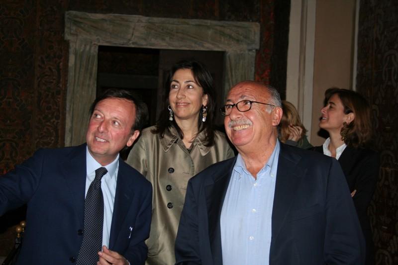 F.Petrucci, Nicola Spinosa, Caterina Volpi, 27.4.2010