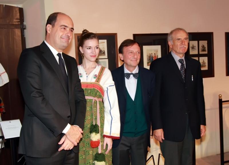 Nicola Zingaretti, Elena Minulina, F.Petrucci, Emilio Cianfanelli, 25.11.2011
