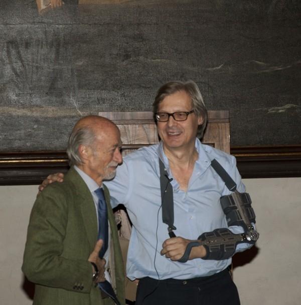 Ferdinando Peretti e Vittorio Sgarbi, 29.11.2012