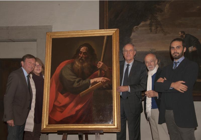 F.Petrucci, Stefania Macioce, Claudio Strinati, Peretti, Michele Nicolaci 16.11.2013