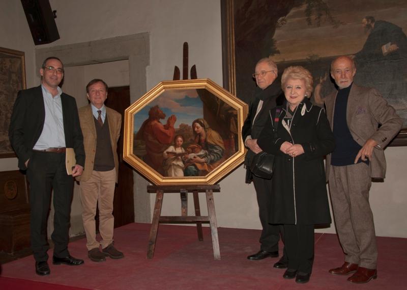 Giovan Battista Fidanza, F.Petrucci, Marcello Fagiolo, Michela Di Macco, Peretti, 19.3.2016