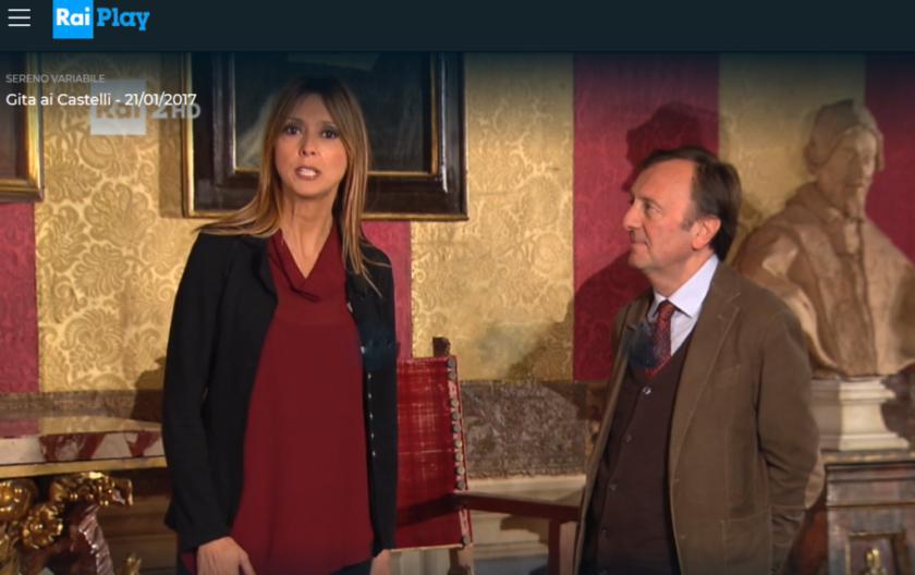 Maria Teresa Giarratano, in Sereno Variabile, 21.1.2017