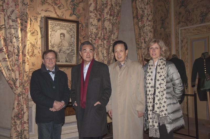 Visita di Wang Yi, Ministro Affari Esteri RPC, e S.E. Li Ruiyu, Ambasciatore RPC, 3.2.2016