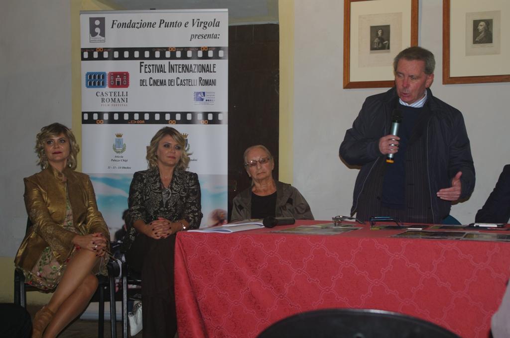 Gemelle Laura e Silvia Squizzato, Roberto Di Felice, Festival Internazionale del cinema dei castelli romani,, ottobre 2018