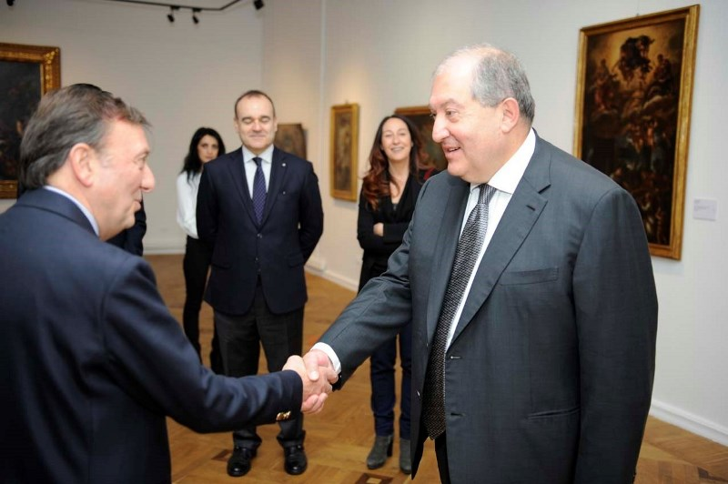 Visita Presidente Repubblica Armenia, 6.12.2018