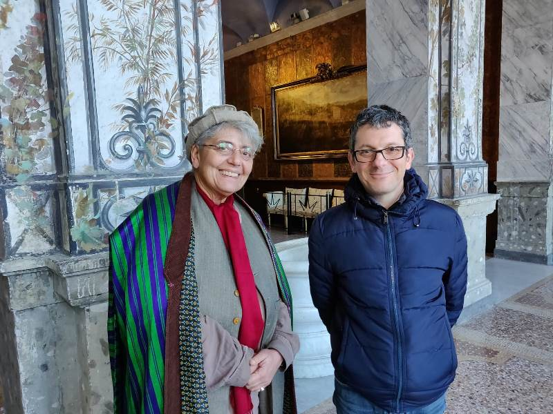 Principessa Soraya d'Afghanistan e Daniele Petrucci, 16.2.2019