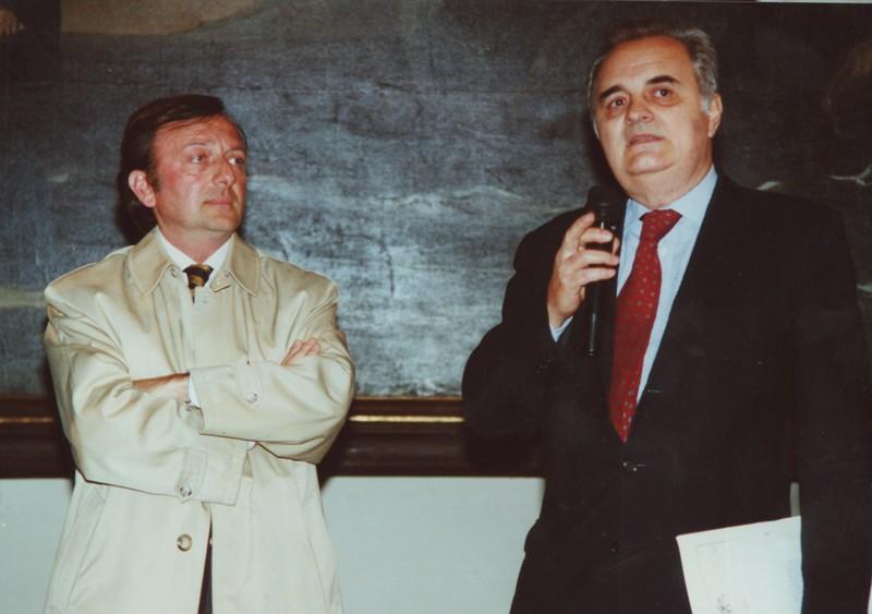 """Francesco Petrucci e Maurizio Fagiolo dell'Arco, """"Il Baciccio un anno dopo"""" (24.3.2001)"""