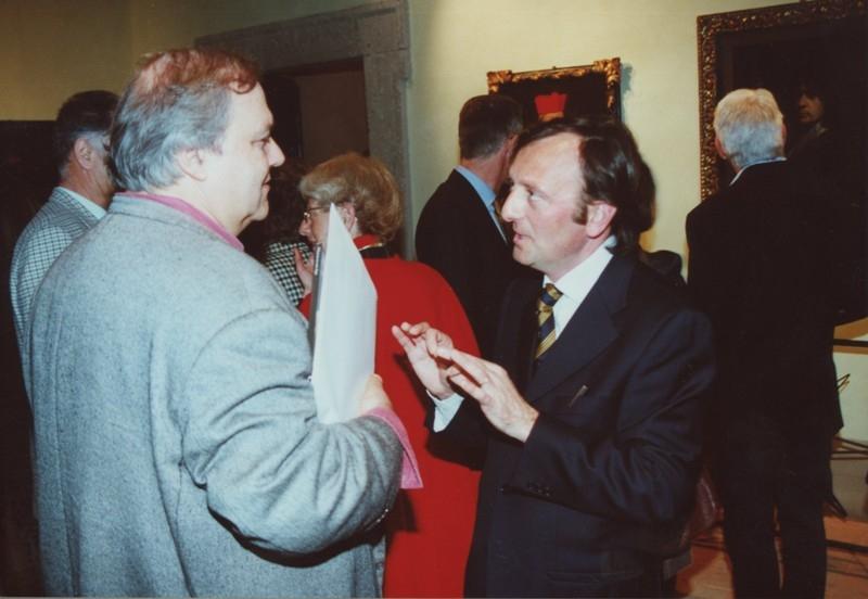 F.Petrucci e Maurizio Marini, Il Baciccio un anno dopo, 24.3.2001