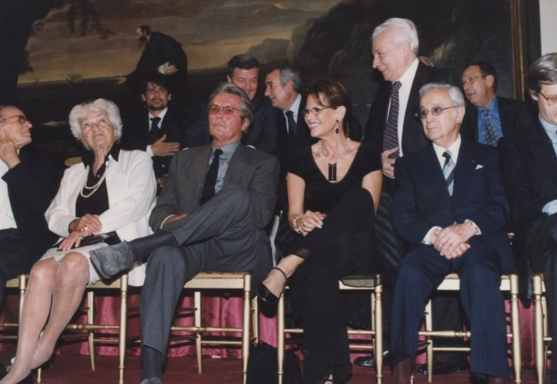 Inaugurazione mostra Gattopardo, 12.10.2001