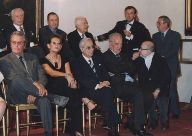 """Inaugurazione mostra """"La scena del Principe. Visconti e il Gattopardo"""" (12.10.2001)"""