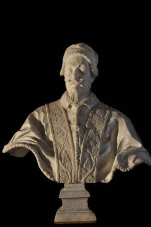 Giuseppe Mazzuoli, Busto di Alessandro VII. Ariccia, Palazzo Chigi, inv. 1268