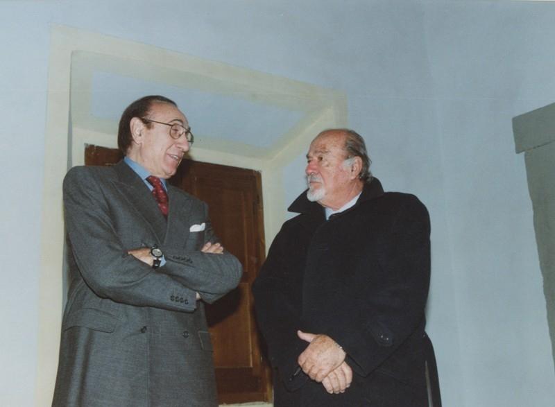 Baudo e Ivo Garrani, Cena del Gattopardo, 24.11.2001