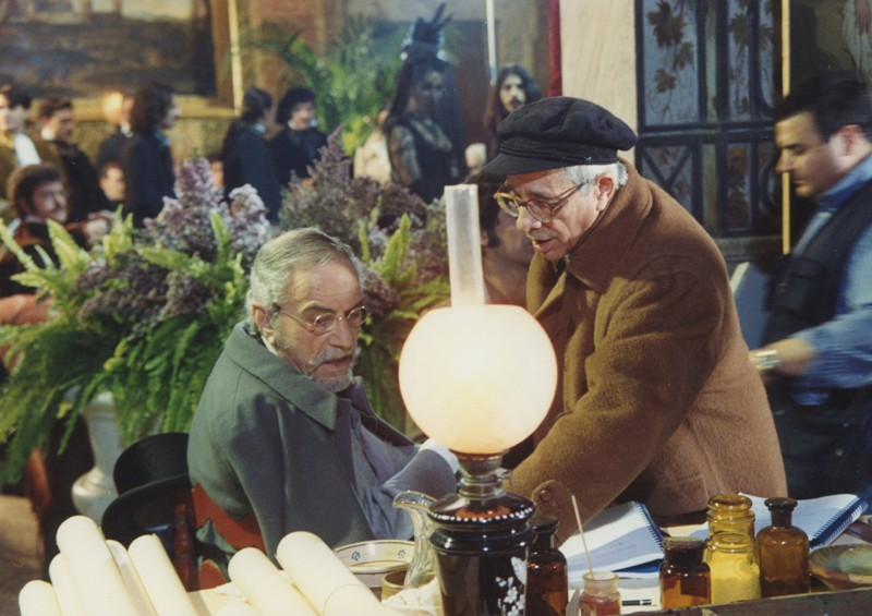 Nino Manfredi, Gigi Magni, in La Notte di Pasquino, 18.3-3.4.2002