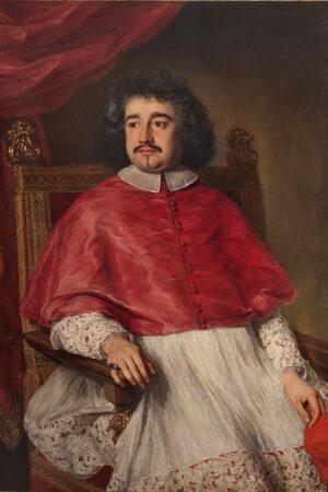Jacob Ferdinand Voet, Ritratto del cardinal Flavio I Chigi. Ariccia, Palazzo Chigi, inv. 467