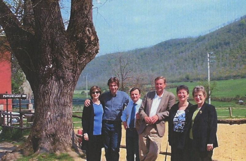 June Henton, Maurizio Antonini, F.Petrucci, Alan Taylor, Marylin Bradbard, Carol Warfield, 15.4.2002