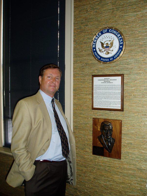 Alan Taylor, consulente della Auburn University per apertura Campus ad Ariccia (2002)