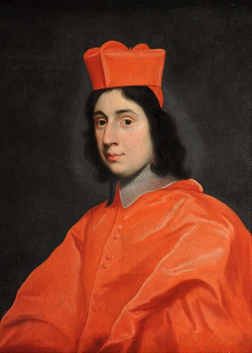 Giovan Battista Gaulli, il Baciccio, Ritratto del cardinal Sigismondo Chigi. Ariccia, Palazzo Chigi, inv. 458