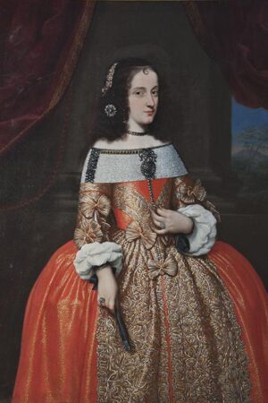 Giovanni Maria Morandi, Ritratto della principessa Maria Virginia Borghese Chigi. Ariccia, Palazzo Chigi, inv. 449