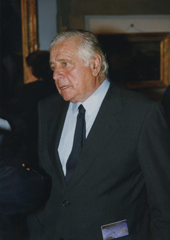 """Principe Mario Chigi, inaugurazione mostra """"I Piaceri della Vita in Campagna"""" (15 settembre 2000)"""